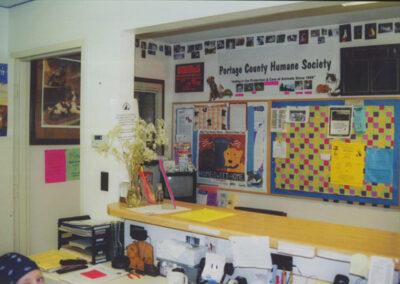 Humane Society bulletin board