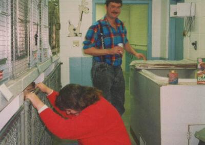 Shelter staff