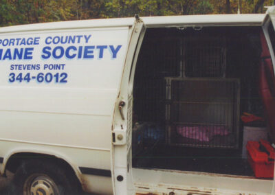 Portage County Humane Society van