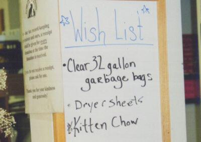 Whiteboard wish list
